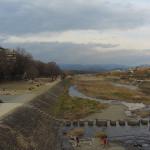 京都御所と鴨川をまったり歩く・・・  (^^)