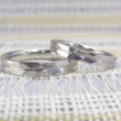 槌目風 リング 結婚指輪