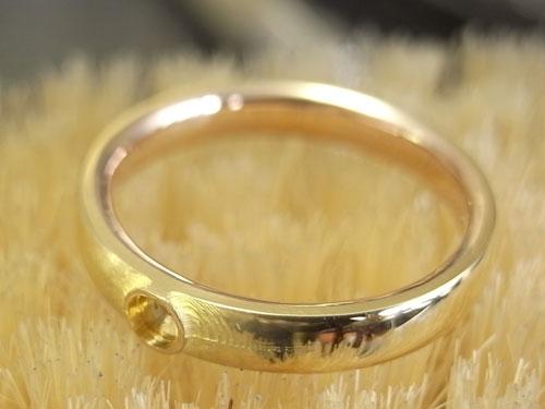 オーダーメイドで製作中婚約指輪 04
