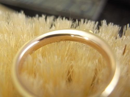 オーダーメイドで製作中婚約指輪 05