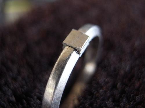 カルティエの結婚指輪のサイズ直し 05