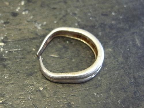 指輪の変形直しとサイズ直し 01