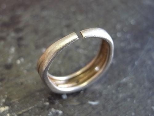 指輪の変形直しとサイズ直し 02
