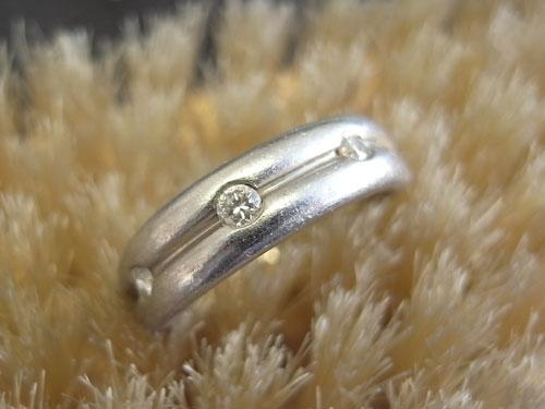 指輪の変形直しとサイズ直し 06