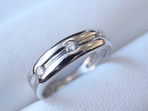 指輪の変形直しとサイズ直し 07