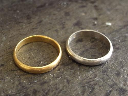 指輪の修理と加工 01