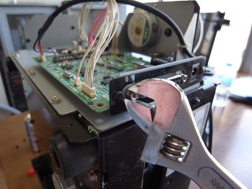 MDX-15の分解と修理 09