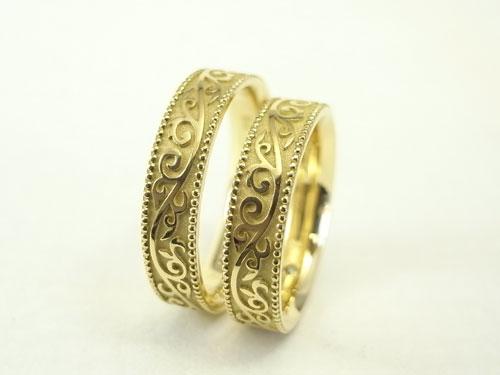 馬蹄の結婚指輪 03