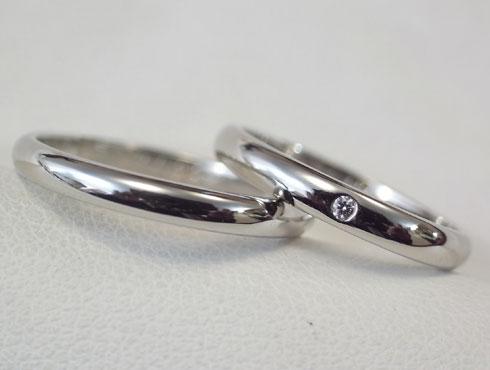 刻印を消さずにカルティエの結婚指輪のサイズ直し 05