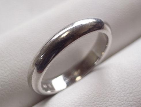 カルティエの結婚指輪のサイズ直し 01