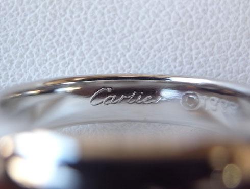 カルティエの結婚指輪のサイズ直し 06
