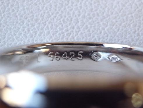 カルティエの結婚指輪のサイズ直し 08