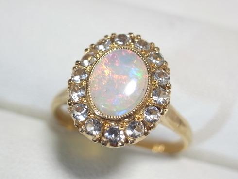 50年前の指輪のサイズ直し 01