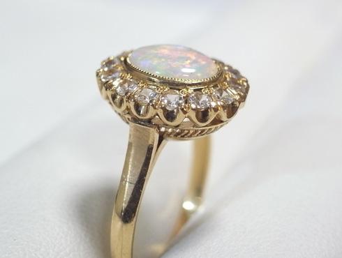 50年前の指輪のサイズ直し 02