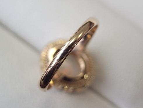 50年前の指輪のサイズ直し 04
