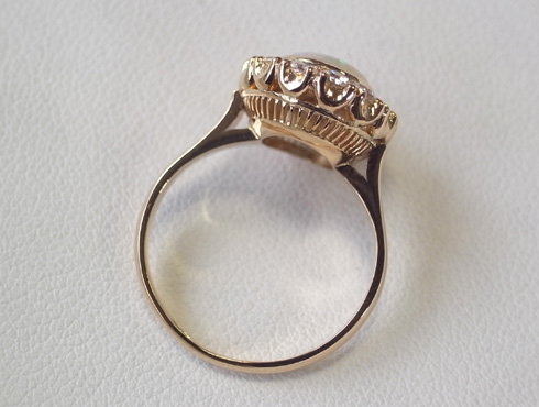 50年前の指輪のサイズ直し 06