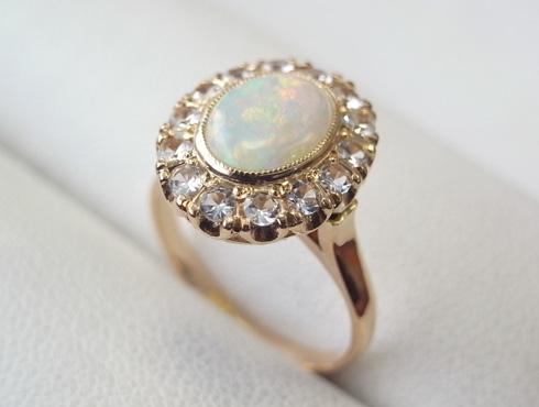 50年前の指輪のサイズ直し 07