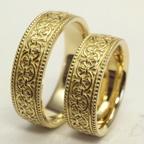 アンティークの結婚指輪 (オーダーメイド)