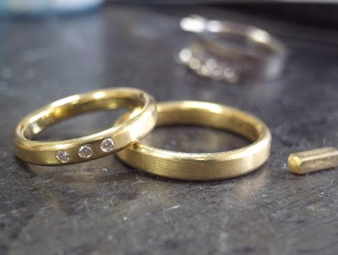 シンプルな結婚指輪のサイズ直し01
