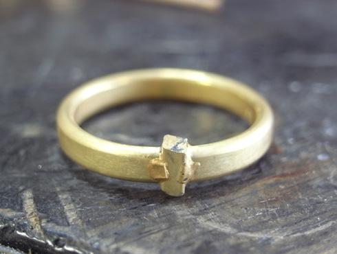 シンプルな結婚指輪のサイズ直し02
