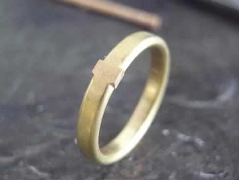 シンプルな結婚指輪のサイズ直し04