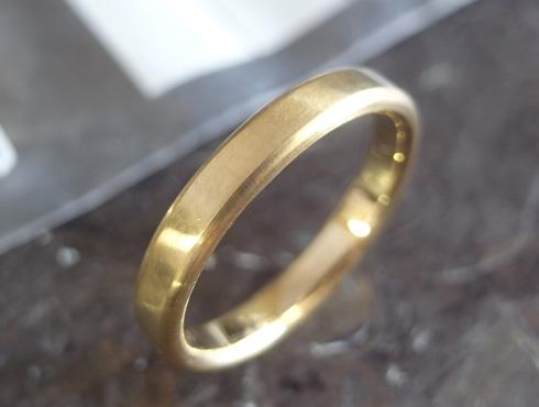 シンプルな結婚指輪のサイズ直し08