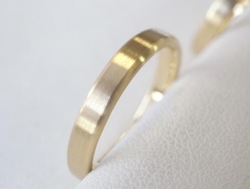 シンプルな結婚指輪のサイズ直し09