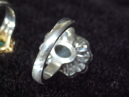 クリソベリルキャッツアイの指輪のサイズ直し 06