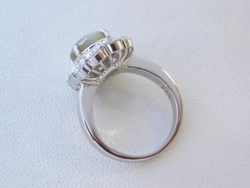 クリソベリルキャッツアイの指輪のサイズ直し 08