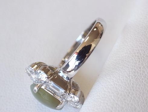 クリソベリルキャッツアイの指輪のサイズ直し 09