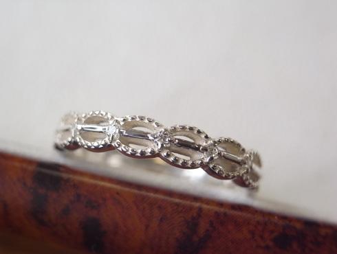 アンティーク調の結婚指輪のサンプル 02