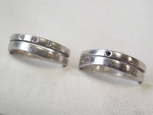 綺麗にする前の結婚指輪