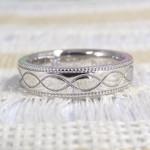 お客様のご出産のプレゼントで製作したオーダーメイドの指輪