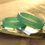 福岡 フレームスパターン リング(結婚指輪)