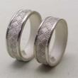 和 結婚指輪 折り目柄