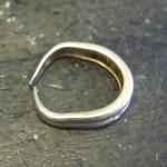 指輪の変形とサイズ直しの工程(画像掲載)