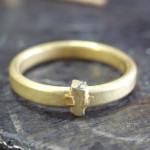 シンプルな結婚指輪のサイズ直し