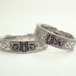 馬蹄の結婚指輪(プラチナ)