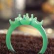 エンゲージ/婚約指輪のワックス製作