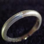 70年前の結婚指輪のサイズ直し