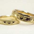 クラダリング!! アイルランドの伝統的な指輪