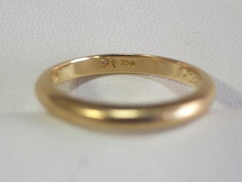 70年前の結婚指輪のサイズ直し 04