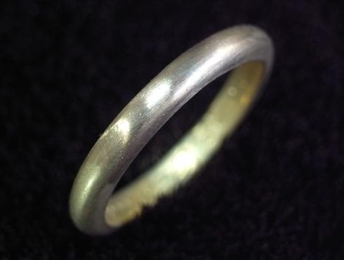70年前の結婚指輪のサイズ直し 06