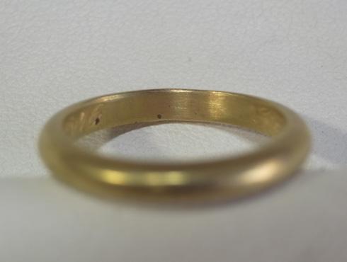 70年前の結婚指輪のサイズ直し 07
