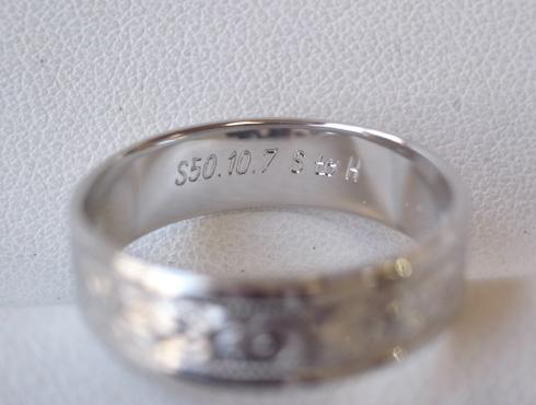 柄を移植して指輪のサイズ延ばし08
