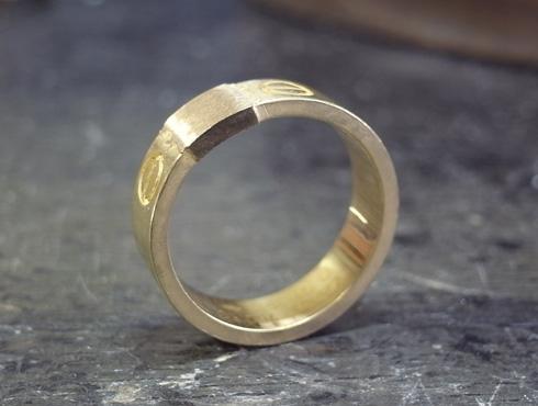 カルティエ ラブリング(ゴールド)サイズ直し 03