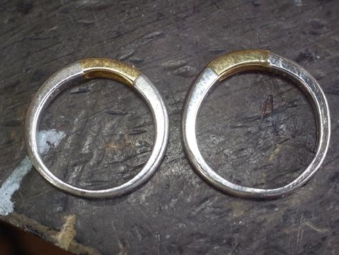 結婚指輪の修理 02