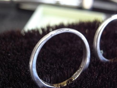 結婚指輪の修理 03