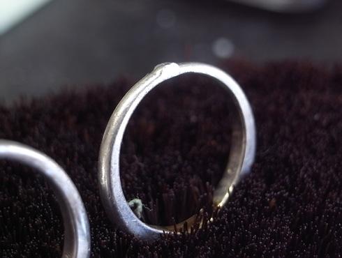 結婚指輪の修理 04