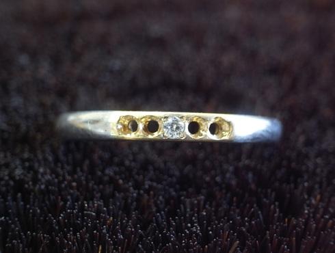 結婚指輪の修理 06